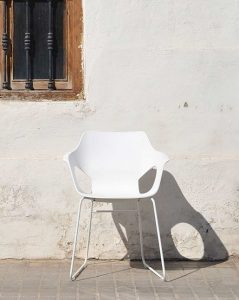 Trpezarijska stolica TS60S bela