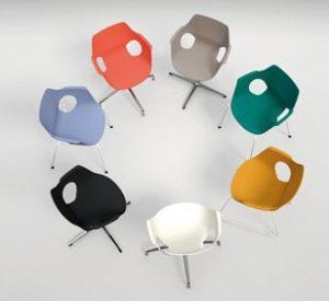 Trpezarijska stolica TS60S u bojama