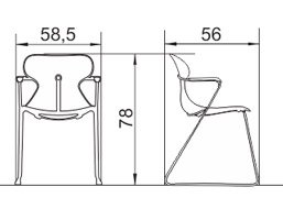 moderna-stolica-ms10s-dimenzije