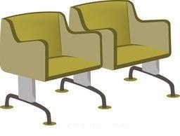 Stolice klupe za čekaonice